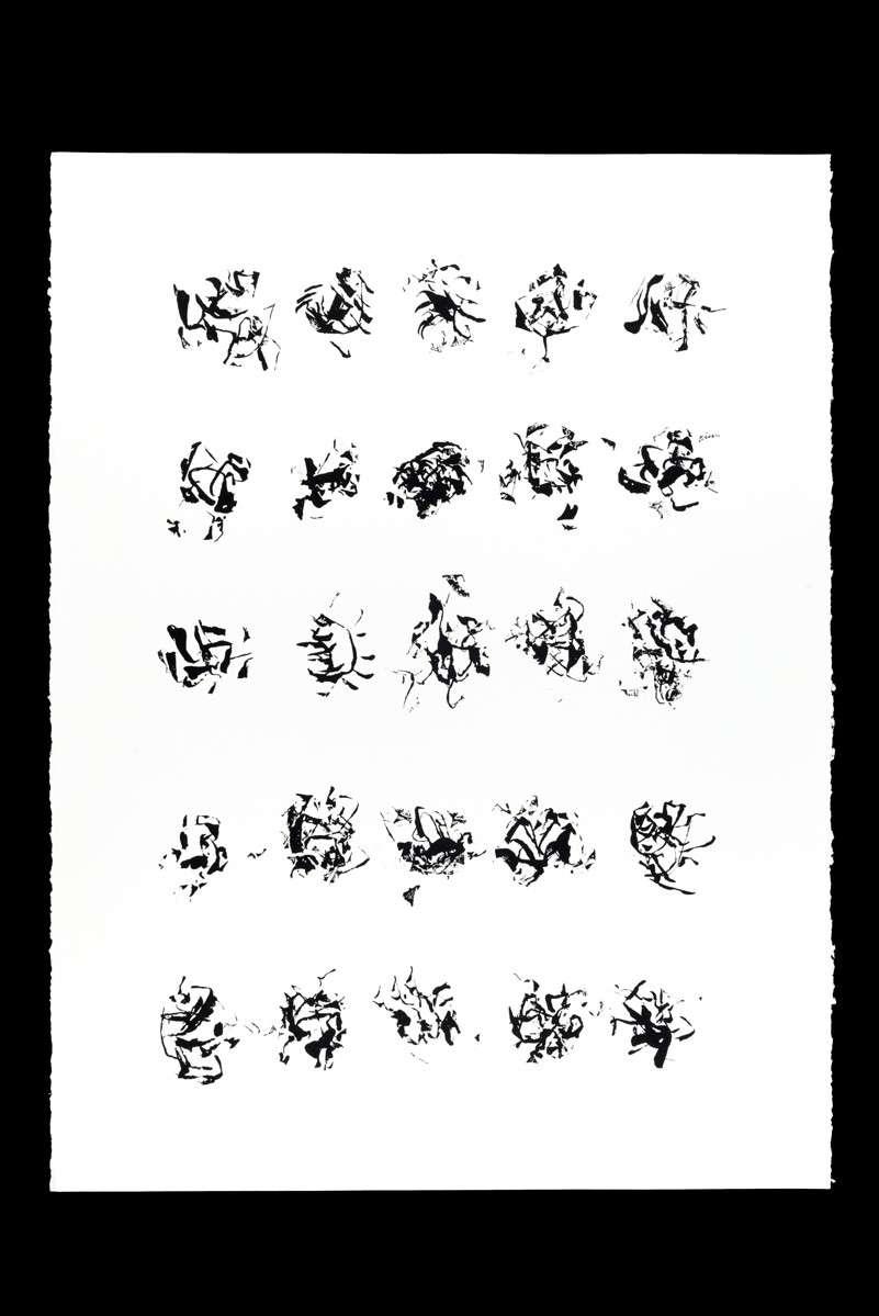 Papier. 56 x 76 cm 2